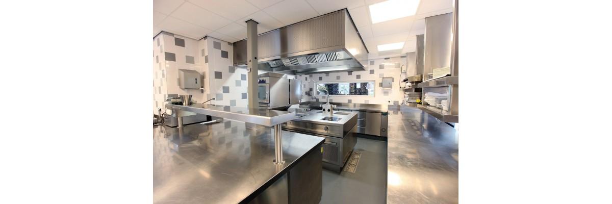 Como definir um projeto de cozinha industrial pequena ideal?